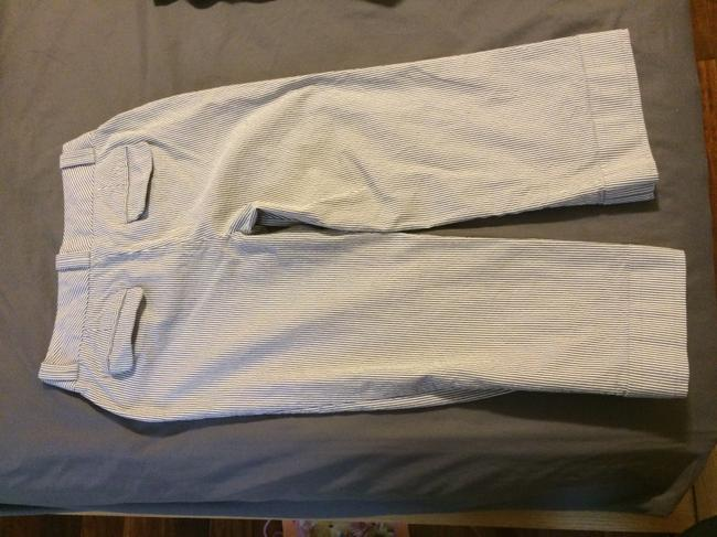 Banana Republic Capri/Cropped Pants white/Gray
