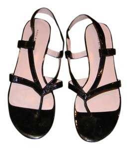 Marc Jacobs By black patent leather Sandals