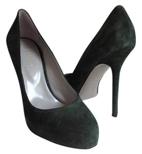 Sergio Rossi Comfy Stylish Nwt Hunter green Pumps