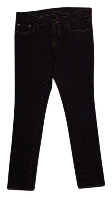 J Brand Casual Cool Chill Chic Effortless Denim Black Boot Cut Jeans