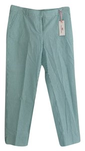 Vineyard Vines Straight Pants Green and White