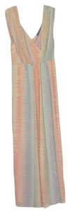 Peach Maxi Dress by Anthropologie