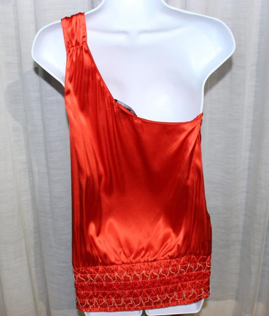 Arden B. Top Red/Orange