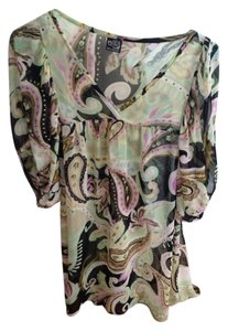 Thanx collection Printed Beach Cover-up