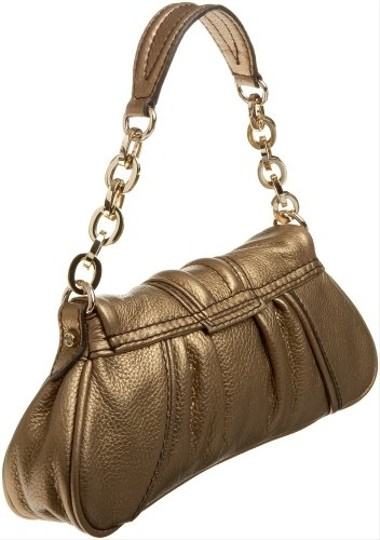 Gustto oristo clutch bronze new with tags Leathet Wristlet in Bronze