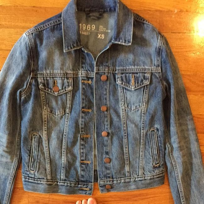Gap Comfortable Casual Blue Denim Jacket
