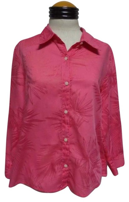 Liz Claiborne Button Down Shirt Pink