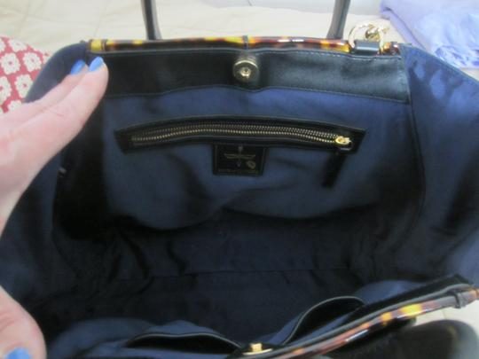 Pour La Victoire Plv Plv Yves Shell Tote in Tortoise and black