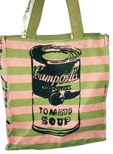 Tote in Pink and Green