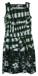 Oscar de la Renta short dress green on Tradesy