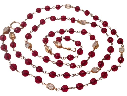 Preload https://img-static.tradesy.com/item/4153936/chanel-gold-super-rare-vintage-56-red-gripoix-and-crystal-necklace-0-2-540-540.jpg