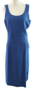 Fendi Blue Sheath Dress