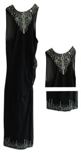 Karen Millen Rhinestones Beads Bodycon Dress