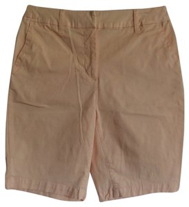 St. John's Bay Bermuda Shorts Light Peach