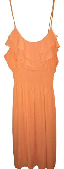 Preload https://item5.tradesy.com/images/body-central-peachmango-above-knee-short-casual-dress-size-8-m-4154689-0-0.jpg?width=400&height=650