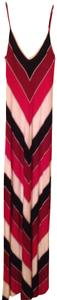 Red/black/white Maxi Dress by Bebe