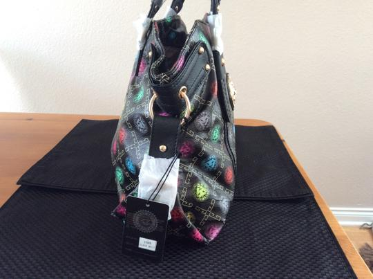 Other Lion's Head Gold Emblem Tote in Black multicolored