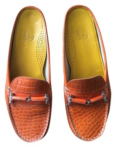 Cole Haan Orange Mules