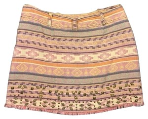 Free People Mini Skirt Pink