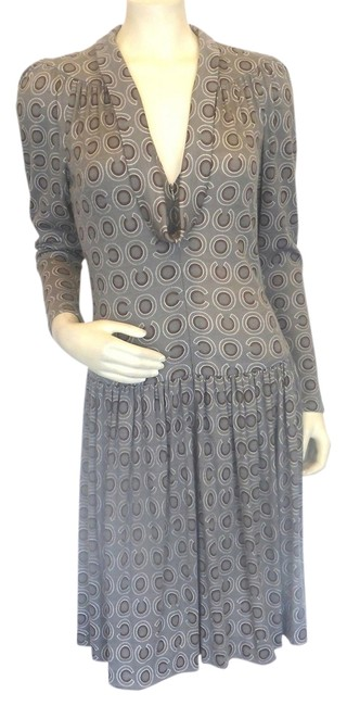 Preload https://item2.tradesy.com/images/chanel-wool-dress-charcoal-gray-4155856-0-0.jpg?width=400&height=650