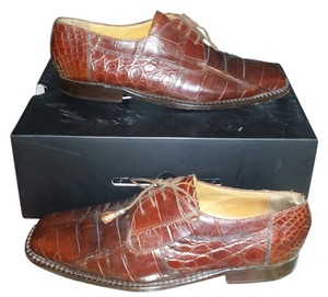 David Eden Dress Brown Mens Shoe Formal