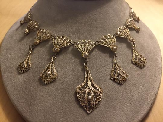 Other Artisan-made silver necklace