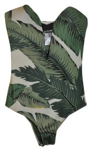 Beach Riot x Stone Cold Fox Palm Print One Piece by SCF x Beach Riot