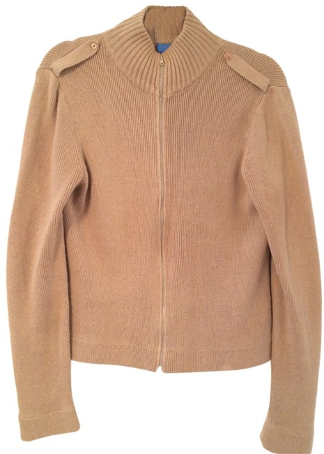 Preload https://item2.tradesy.com/images/delias-tan-military-style-zip-up-jacket-sweaterpullover-size-12-l-4156486-0-0.jpg?width=400&height=650