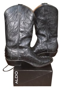 Amazonas Black Mens Cowboy Style Boots