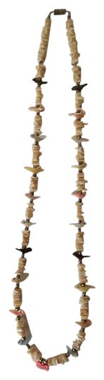 Preload https://item4.tradesy.com/images/ivorymulti-native-american-shell-and-fetish-necklace-4157353-0-0.jpg?width=440&height=440