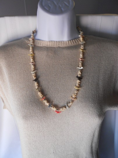 Other Native American Shell and Fetish Necklace