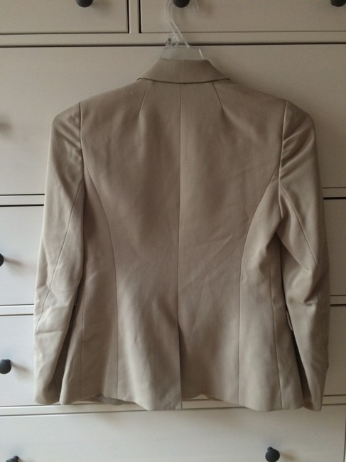 J.Crew Collar Buttons Tan Blazer