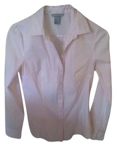H&M Button Down Shirt Pink