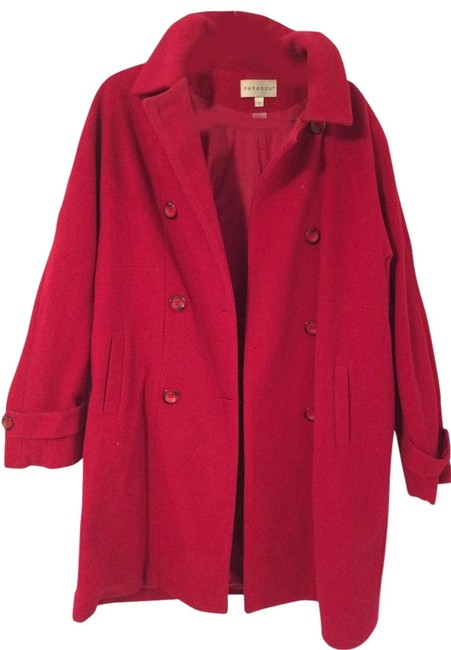 Preload https://item2.tradesy.com/images/paradox-red-stunning-cherry-pea-coat-size-12-l-4157851-0-4.jpg?width=400&height=650