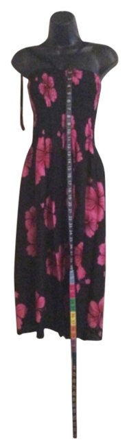 Black and pink Maxi Dress by Other