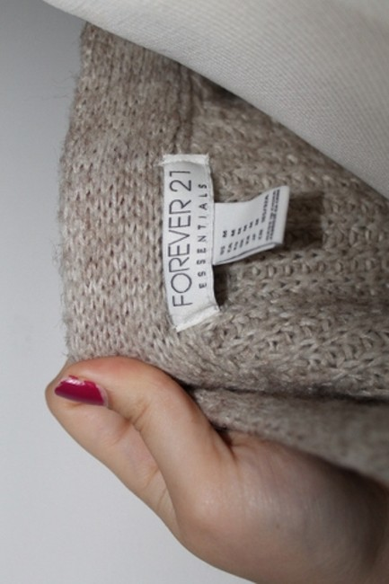 Forever 21 Thick Cardigan