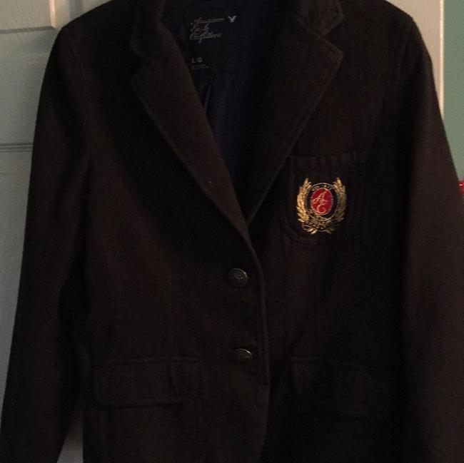 American Eagle Outfitters Dark Navy Jacket