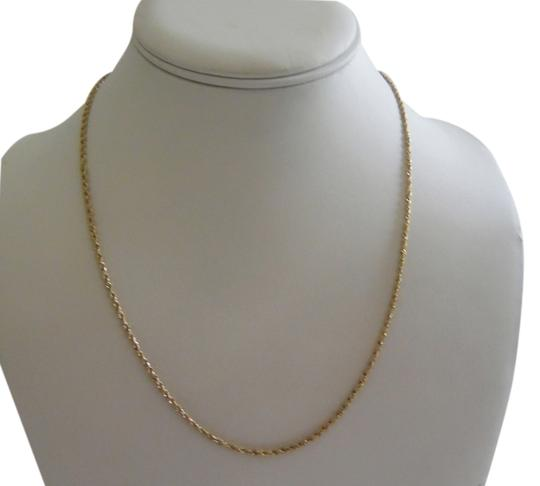 """Michael Anthony Jewelry Michael Anthony 14K 1.5MM Glitter Rope Chain Necklace 18"""""""