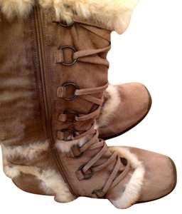 Bakers Fur Comfortable Winter Winter Tan Boots