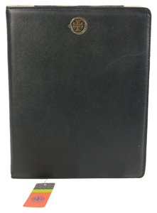 Tory Burch Tory Burch Robinson E- Reader Leather Case - Black