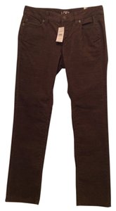 Ann Taylor LOFT Straight Pants Coffee Bean
