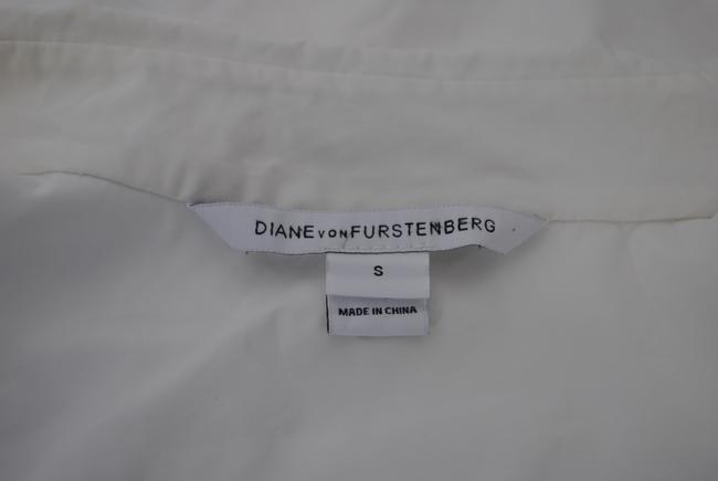 Diane von Furstenberg Button Down Shirt white