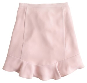 J.Crew Pastel Feminine Girly Summer Mini Skirt Light Mauve