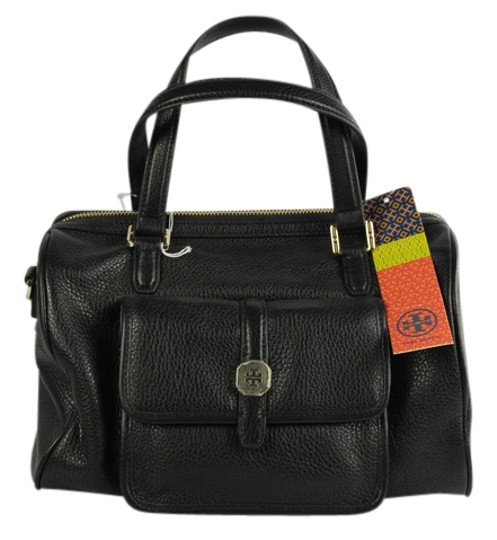 Preload https://item4.tradesy.com/images/tory-burch-black-leather-satchel-4159738-0-0.jpg?width=440&height=440