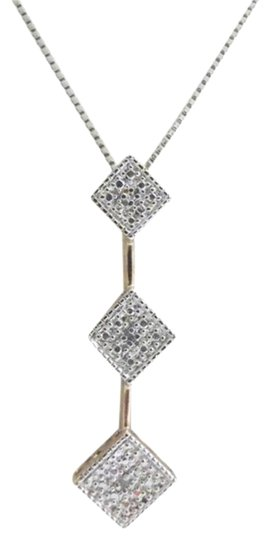 Preload https://item2.tradesy.com/images/technibond-92518k-plated-inch-diamond-accent-pendant-with-chain-necklace-4159786-0-1.jpg?width=440&height=440
