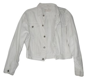 RAGAZZA Vintage White Womens Jean Jacket