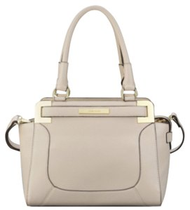 Anne Klein Satchel in Vanilla