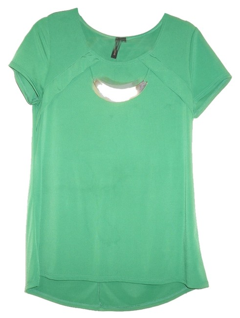 Susan Lawrence Top Green