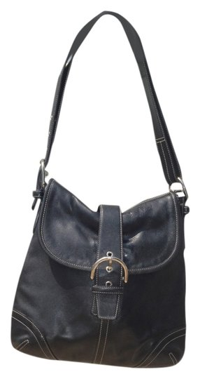 Preload https://img-static.tradesy.com/item/4160422/coach-soft-with-silver-hardware-black-leather-shoulder-bag-0-0-540-540.jpg