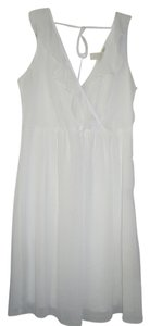 Johnny Martin short dress White Sheer on Tradesy